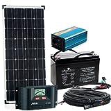 Solaranlage Autark S-Master 100W Solar - 600W AC Leistung 12V 230V - Inselanlage - Solarset