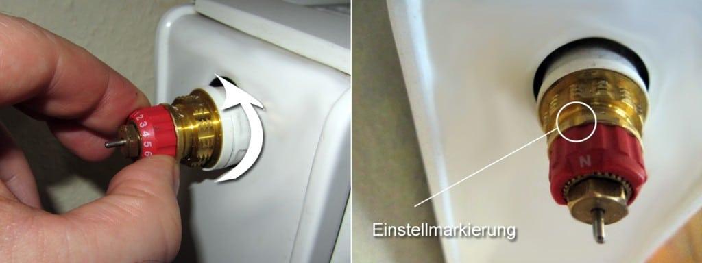 hydraulischen abgleich selber machen schritt 6 voreinstellung der heizk rperventile. Black Bedroom Furniture Sets. Home Design Ideas