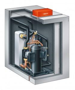 Sole-Wasser-Wärmepumpe Vitocal-300-G - Abbildung: Viessmann Werke