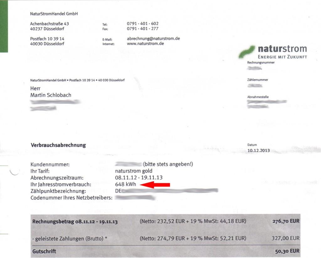 Jahresabrechnung Strom Berechnen : stromsparchallenge fasten f r den umweltschutz haustechnik verstehen ~ Themetempest.com Abrechnung