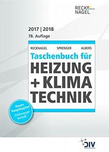 Recknagel - Taschenbuch für Heizung + Klimatechnik 78. Ausgabe 2017/2018