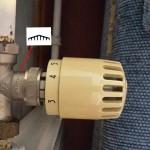 Pont a Mousson Heizkörperventil und Thermostat