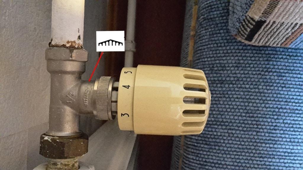Altes Thermostat