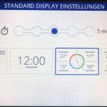 evohome-displayeinstellungen