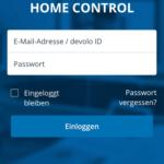 devolo-home-control-app-login