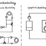 Einspritzschaltung, schematische Darstellung (synoptisch und geografisch)
