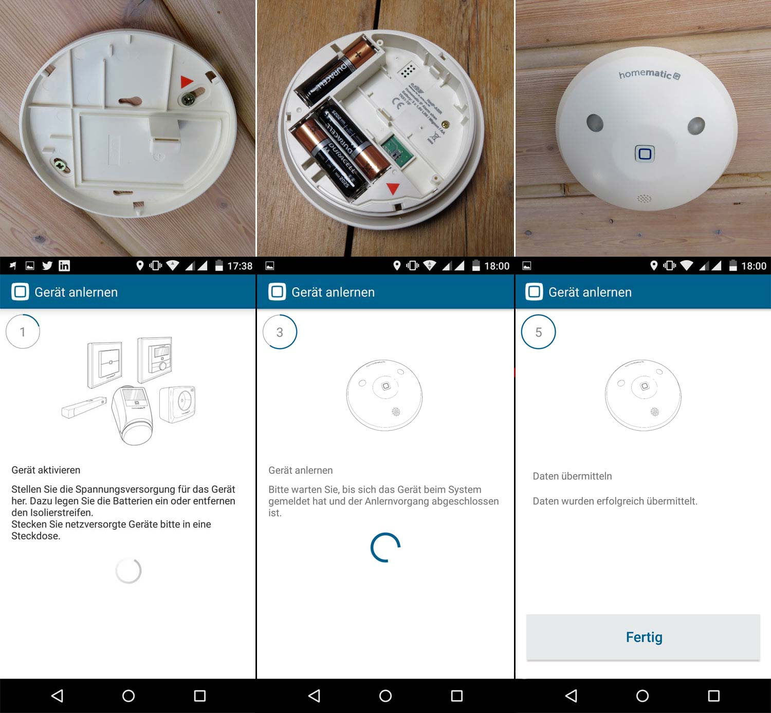 Homematic IP - Installation der Alarmsirene