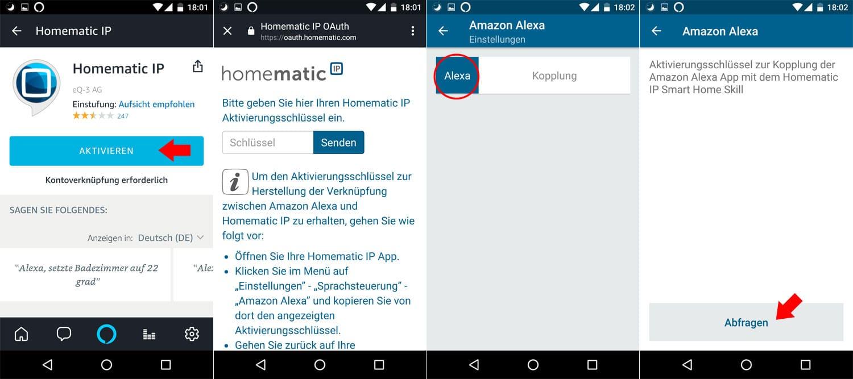 Homematic IP - Alexa Integration - Schritt 2