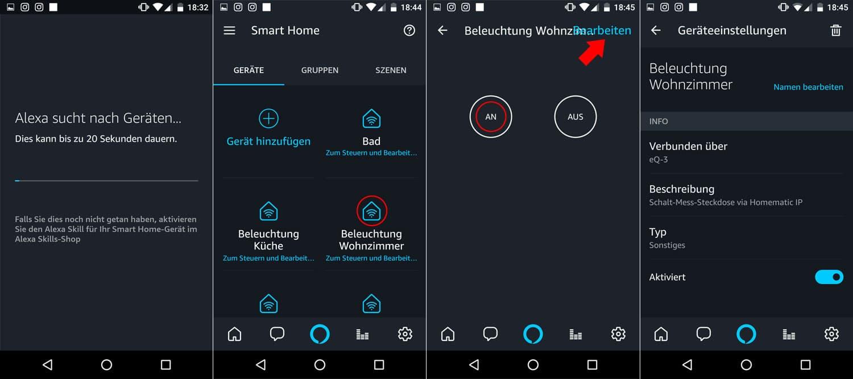 Homematic IP - Alexa Integration - Schritt 4