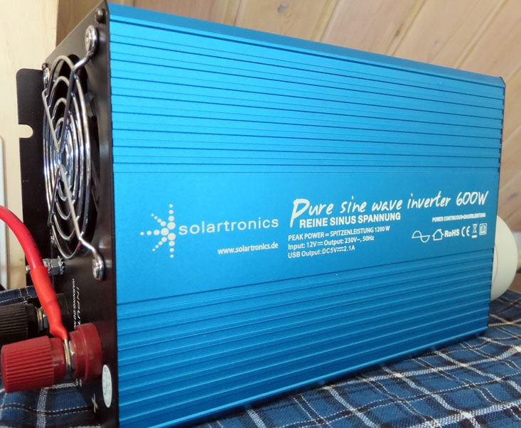 Solartronics Spannungswandler 230 V - 600 W