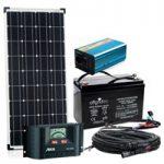 Komplettsystem - Solaranlage-Autark-Master-S